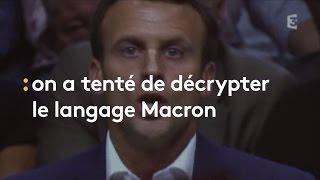 Video Présidentielle : on a tenté de décrypter le langage Macron (en vain) - franceinfo MP3, 3GP, MP4, WEBM, AVI, FLV Oktober 2017