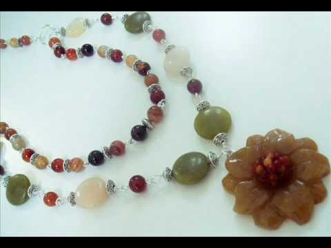 Handmade Semi-Precious Gemstone Jewelry Collection by www.beautyandthegems.artfire.com
