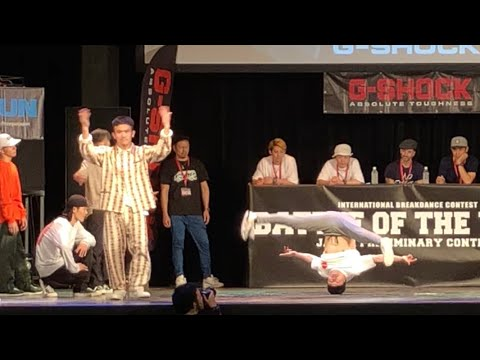 GOOD FOOT Vs Mortal Combat 【 Battle Of The Year 2018 Japan 】BOTY