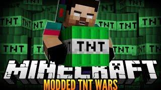 Minecraft MODDED TNT WARS w/NoahCraftFTW - BEST GAME EVER!