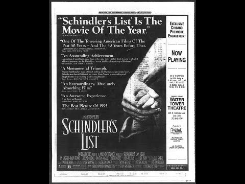 Review: Schindler's List 25th Anniversary 4K UHD Blu Ray