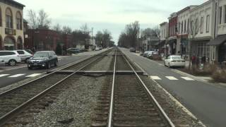 Ashland (VA) United States  City new picture : Street Running with Amtrak in Ashland, VA