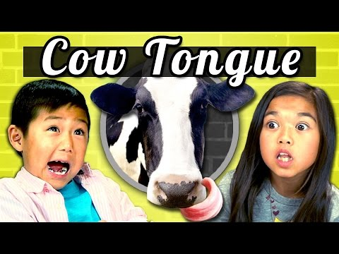KIDS vs. FOOD #1 - COW TONGUE