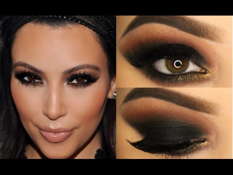 make-up in stile kim kardashian