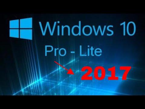 Windows 10 version lite 2017 para PC de bajos recuersos