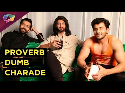 Ishqbaaz brothers play unique game of Proverb Dumb