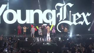 Video YOUNG LEX - O Aja Ya Kan & GGS Ft.Skinny Indonesian 24 & Kemal Palevi (Live @ Viral Fest Asia 2016) MP3, 3GP, MP4, WEBM, AVI, FLV Oktober 2018