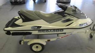 2. 2006 Sea Doo GTX 4-Tec SuperCharged 155hp 3-Seater ONLY 63hrs!  Used Boats - Pueblo,Colorado - 2013-