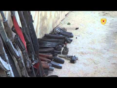 YPG Kobane'de çetelere ağır darbe vurdu-VİDEO