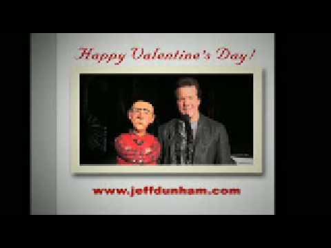 7 Walentynkowych kartek od Jeff Dunham'a & Walter'a