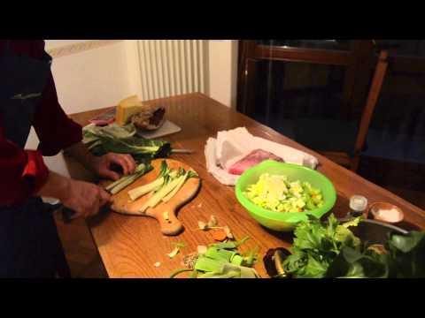 il minestrone con verdure bio, ricco di proprietà nutritive!