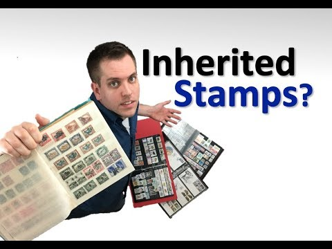 Inherited stamp collection? - What to do!