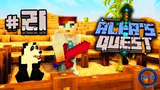 "Minecraft - Ali-A's Quest #21 - ""PANDA THE... PANDA!"""