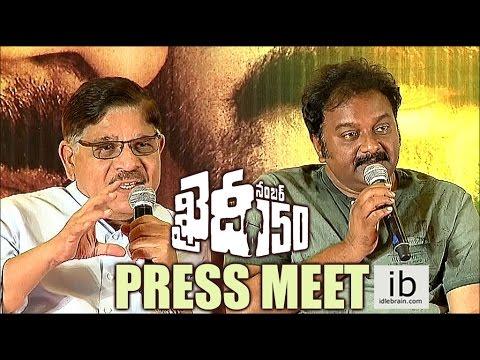 Khaidi No.150 Press Meet