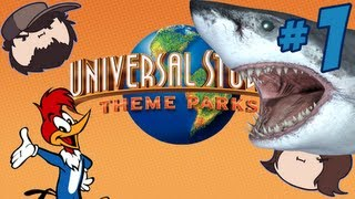 Universal Studios Theme Parks Adventure: Guess Who? - PART 1 - Game Grumps