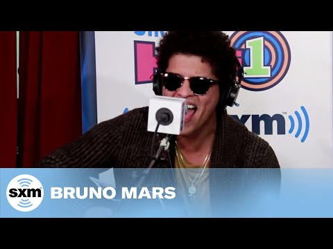"""Bruno Mars """"Locked Out Of Heaven"""" Live @ SiriusXM // Hits 1"""