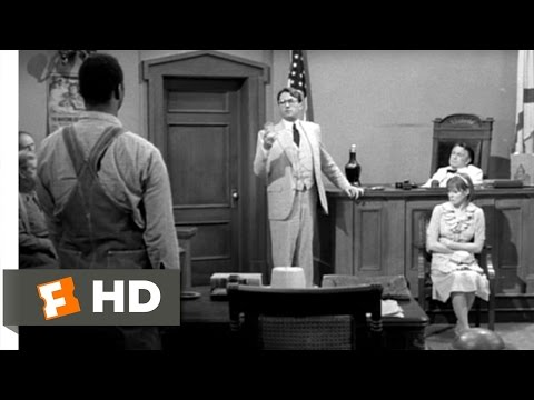 To Kill A Mockingbird - To Kill a Mockingbird Movie Clip - watch all clips http://j.mp/zaZY18 click to subscribe http://j.mp/sNDUs5 When Atticus (Gregory Peck) cross-examines Mayell...