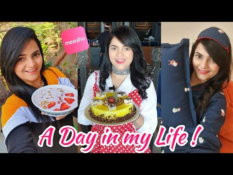 A Day in my Life with Meesho | Food Vlog