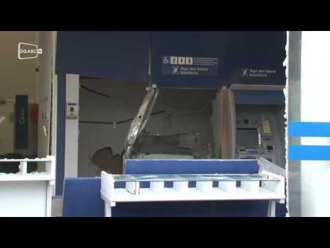 Criminosos atacam caixas eletrônicos em São Bernardo