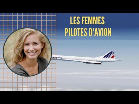 LES FEMMES PILOTES D'AVION