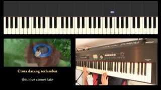 Maudy Ayunda - Cinta Datang Terlambat (OST. Refrain) Piano Cover