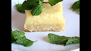 Videoricetta: barrette al limone