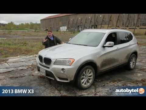2013 BMW X3 xDrive28i Test Drive & Luxury Crossover SUV Video Review