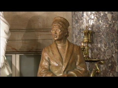Rosa Parks Statue Unveiled at Capitol