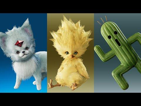 Gameplay invocations bonus de Final Fantasy VII Remake