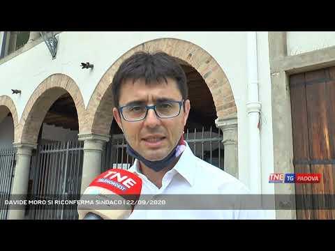 DAVIDE MORO SI RICONFERMA SINDACO | 22/09/2020