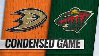02/19/19 Condensed Game: Ducks @ Wild by NHL