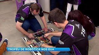 Estudantes do Sesi/Senai de Bauru conquistam troféu de robótica no EUA
