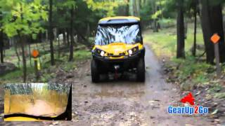 8. CAN-AM Commander 1000XT Rider Review- GearUp2Go.com UTV SuperStore