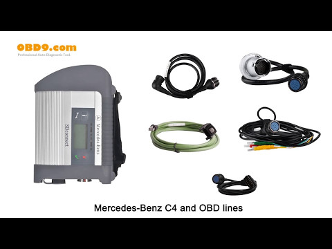 MB SD C4 V2017.03 Star Diagnostic Tool With DELL D630 Laptop (Software HDD Installed Already)