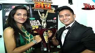 Exclusive Interview!  India Banega Manch Winners - Amit and Sakshi!