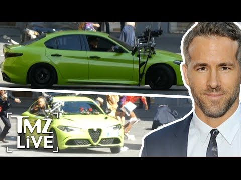 Ryan Reynolds Staring In Most Expensive Netflix Movie | TMZ Live
