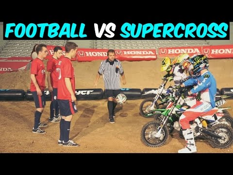 Football vs Supercross