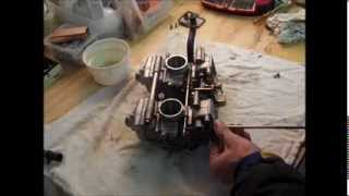 6. Ski-Doo MXZ 600 HO Adrenaline Carb Removal and Cleaning Part 2 of 2