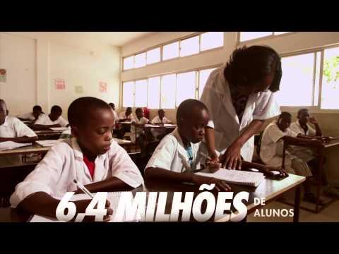 Mais escolas e mais Educação em Angola