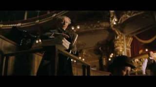 The trailer from the film of the phantom of the opera film by Joel Schumacher remake of the musical by Andrew Lloyd webbed inspired by the book written by ...