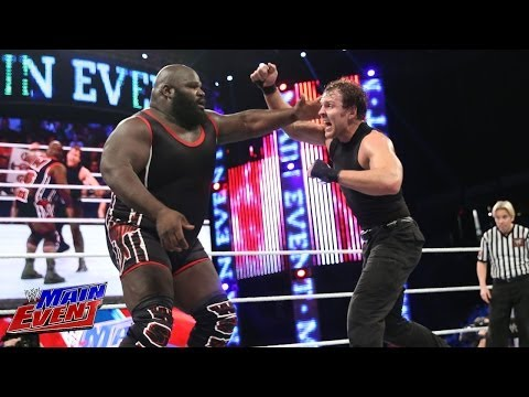 Mark Henry vs. Dean Ambrose - United States Championship Match: Main Event  March 11  2014 12 March 2014 07 AM
