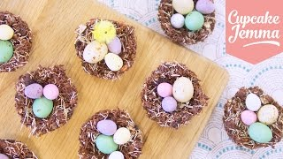 How to make THE BEST Chocolate Nests for Easter! | Cupcake Jemma by Cupcake Jemma