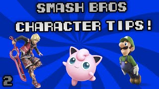 "Check out my growing channels new Smash ""Character Tips"" video!"