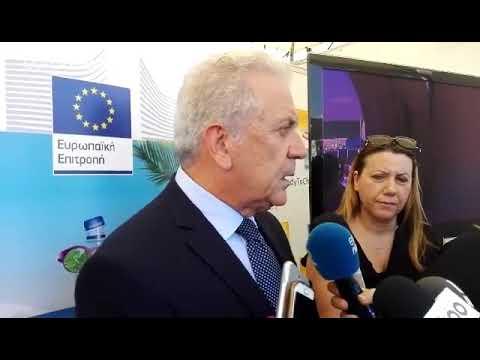 Ο Δημήτρης Αβραμόπουλος μιλά στο euronews