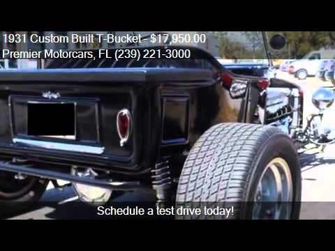 1931 Custom Built T-Bucket for sale in Bonita Springs, FL 34
