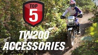 9. Top 5 Yamaha TW200 Accessories