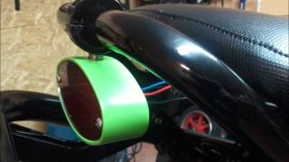 9. MonsterGY6.com Black Magic Honda Ruckus Build
