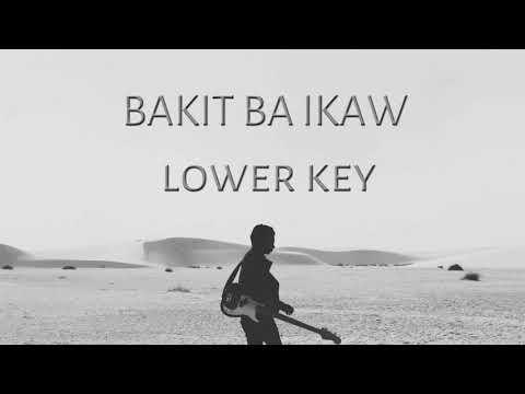 Bakit ba Ikaw Lower Key Instrumental by Michael Pangilinan
