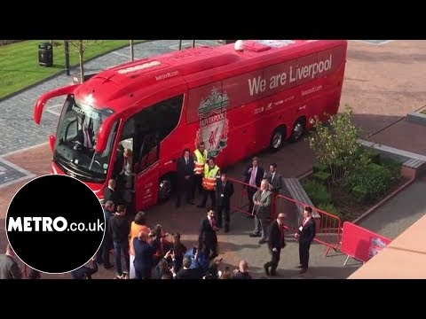 Mohamed Salah Leads Liverpool Team Off The Bus At Awards | Metro.co.uk