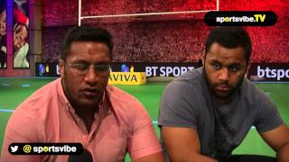 Mako And Billy Vunipola Talk Saracens And England
